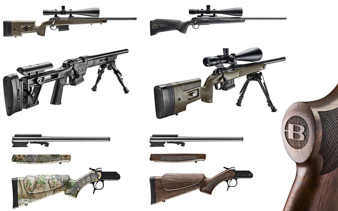 Fotografías de producto. Rifles BERGARA